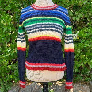 AEO Striped Sweater S EUC